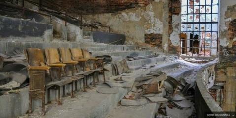 Ruin lecture hall