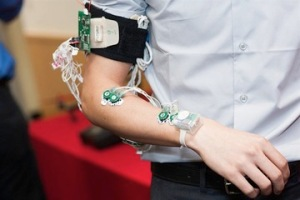 The wearable sensor.